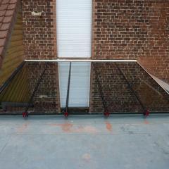 réalisations de menuiseries aluminiums à  Mouvaux prés de Lille par Menuisal