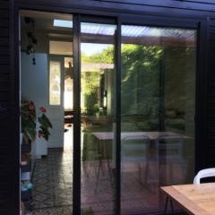 Modification d'une façade pour pose de menuiserie aluminium en configuration ITE