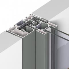 MENUISAL le système de coulissant  aluminium minimaliste Reynaers SlimPatio 68