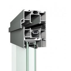 MENUISAL vous présente le système de baie repliable en aluminium Reynaers CF-77