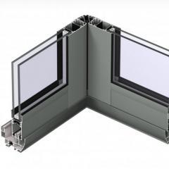MENUISAL vous présente le système de baie coulissante d'angle Reynaers CP-50 RM