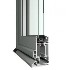 MENUISAL vous présente le système de Porte grand trafic Reynaers CD50