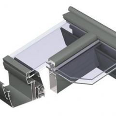 MENUISAL vous présente le système de verrière en aluminium Reynaers CR-120