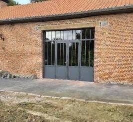 Menuiserie aluminium style atelier réalisé par MENUISAL à Croix et Locquignol