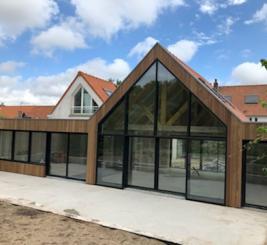 Menuiserie aluminium Reynaers réalisée par Menuisal à Wissant et Lille