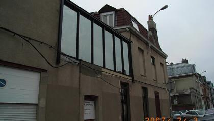 réalisations de menuiseries aluminiums à Lille par Menuisal