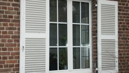 réalisations de menuiseries aluminiums à Mons en Baroeul prés de Lille par Menuisal