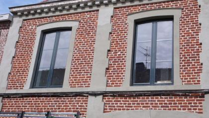 réalisations de menuiseries aluminiums à Templeuve prés de Lille par Menuisal