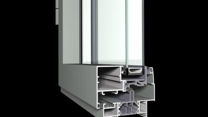 MENUISAL vous présente le système de fenêtre et porte-fenêtre Reynaers XS-68