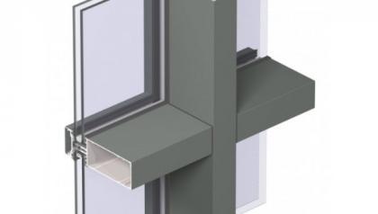 MENUISAL vous présente le système de façade mur-rideau Reynaers CW-50