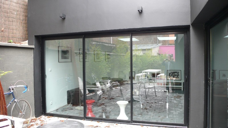 Prix baie vitree coulissante 3 vantaux maison design - Baie vitree 3 vantaux ...