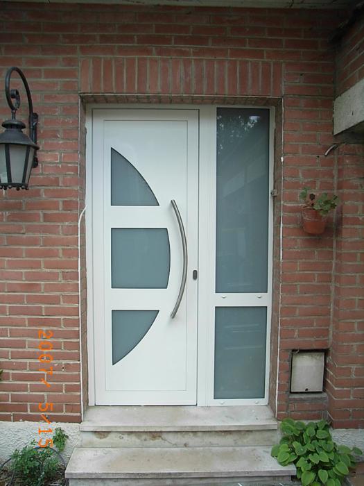 porte d entree en aluminium dootdadoocom idees de With porte d entrée alu avec meuble de salle de bain en teck belgique